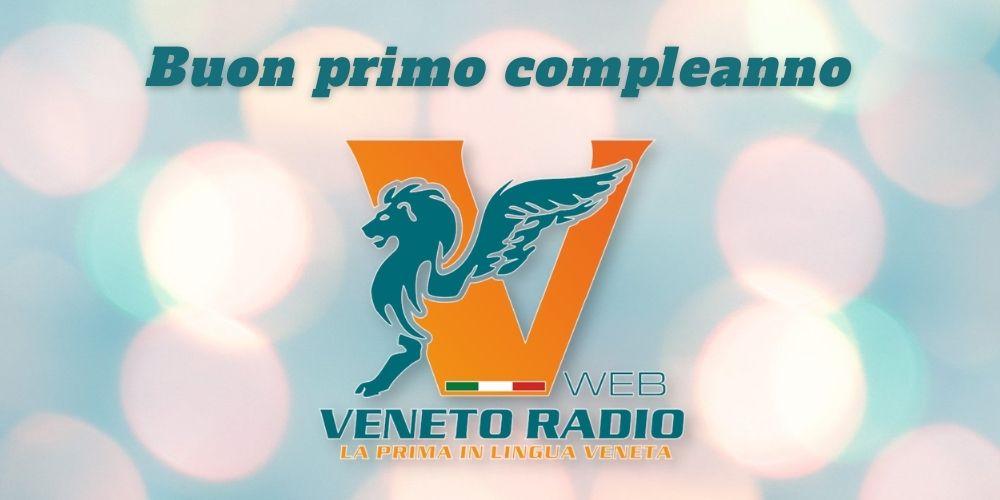 Buon primo compleanno Veneto Radio!